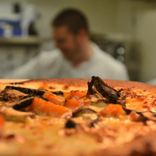 Cafe pizza