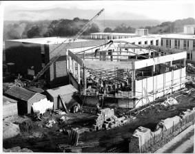 Gulbenkian being built