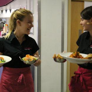 Cafe waiters