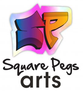 Square-pegs-arts logo