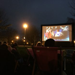 Outdoor screening - student