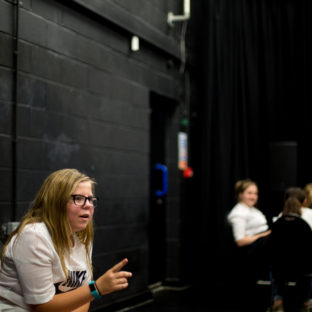 Gulbenkian Youth Theatre, Workshops. Photography by Jason Pay-1