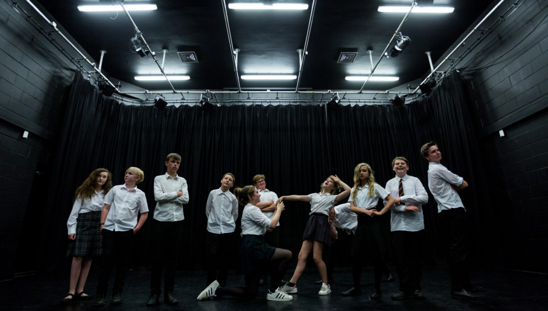 Gulbenkian, youth theatre Photography by Jason Pay-12