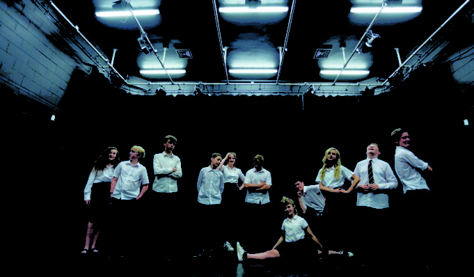 Gulbenkian, youth theatre Workshops. Photography by Jason Pay-13