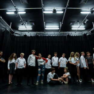 Gulbenkian, youth theatre Workshops. Photography by Jason Pay-14