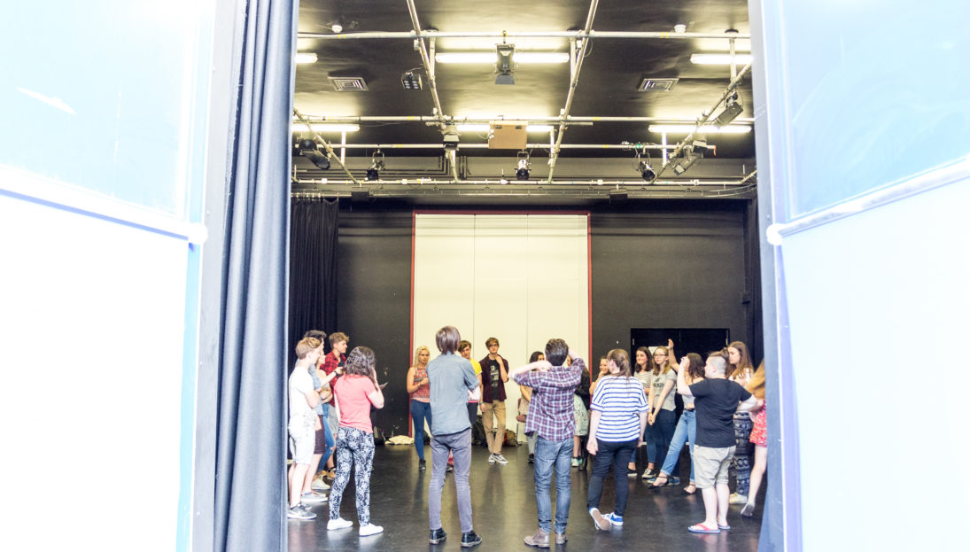 Gulbenkian, youth theatre, Workshops. Photography by Jason Pay-15