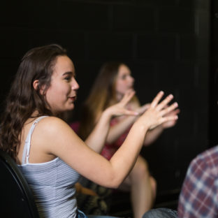 Gulbenkian, youth theatreWorkshops. Photography by Jason Pay-30
