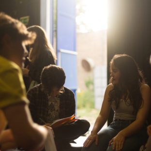Gulbenkian, youth theatreWorkshops. Photography by Jason Pay-35