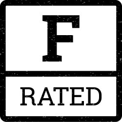 F- Rated Logo
