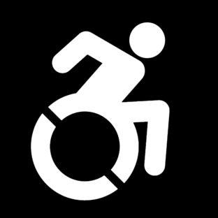 positive - wheelchair symbol