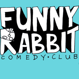 funny rabbit display screen