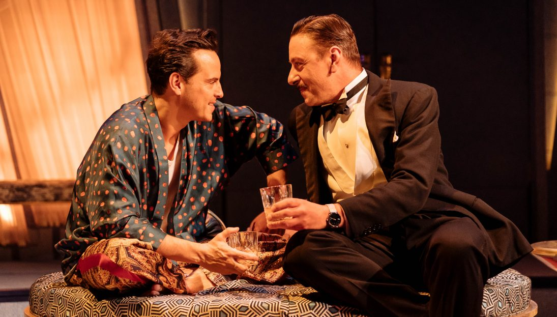 NTL 2019 Present Laughter - Photograph by Manuel Harlan 346