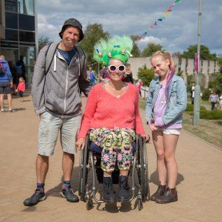 Wheelchair access boing