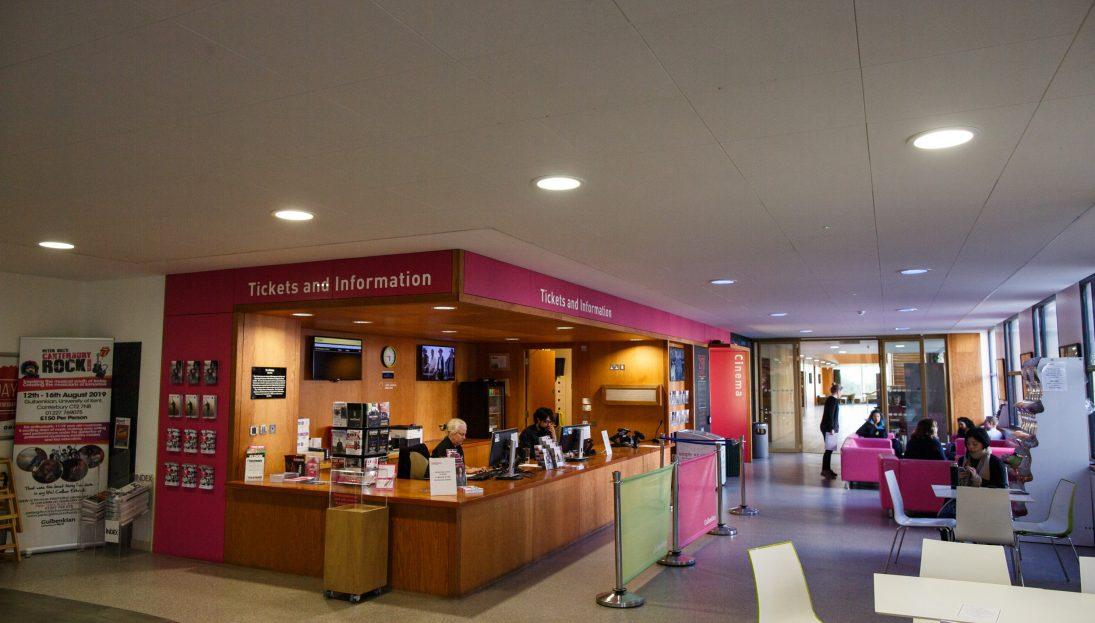 Gulbenkian Ticket Desk c University of Kent