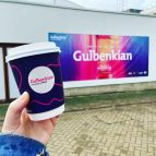 Gulbenkian takeaway coffee cup