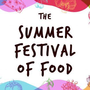 Summer Festival of Food Calendar Graphic