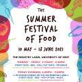 The Summer Festival of Food Poster