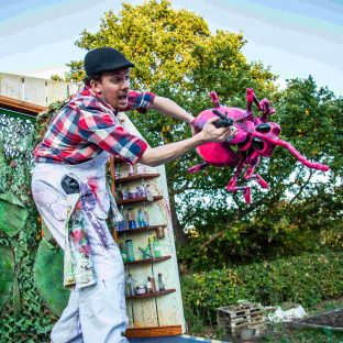 The Puppet Van Flying Beetle