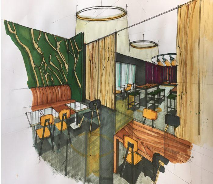 SEA Design: Cafe refurb 3
