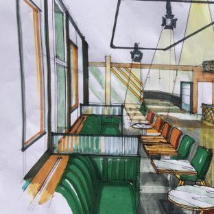SEA Design: Cafe refurb 1