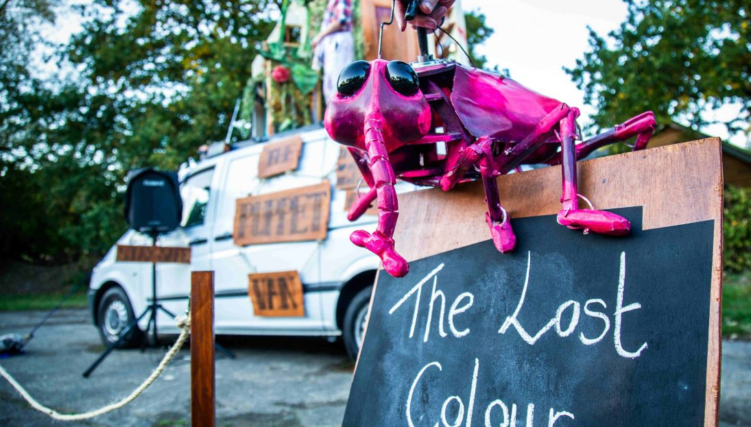 The Puppet Van The Lost Colour Sign