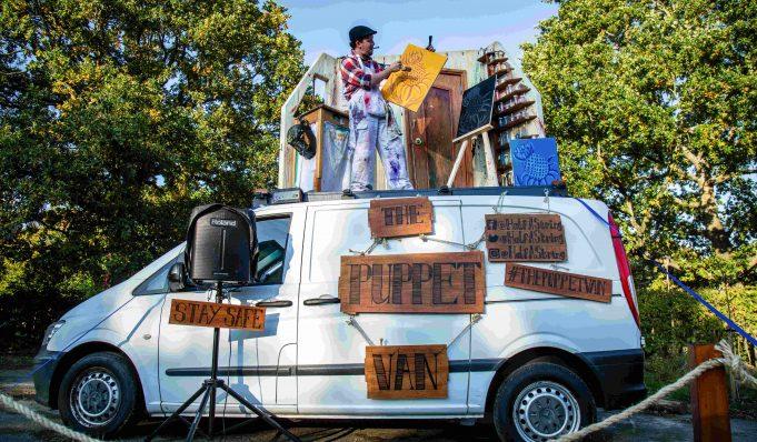 The Puppet Van Whole Puppet Van